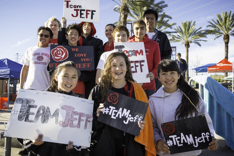 #TeamJeff - Rose Bowl Aquatics
