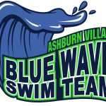 The Ashburn Village BLUE WAVE Swim Team